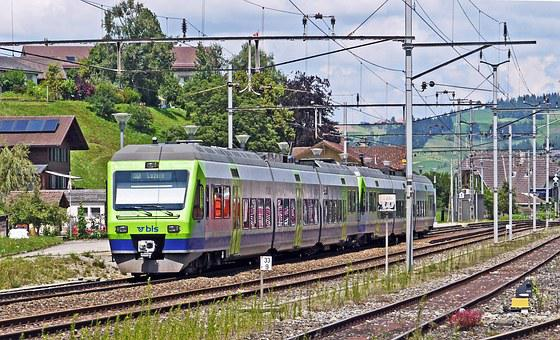 Emmental, Railcar, Regional Train, Bls, Canton Of Berne