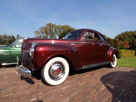 Plymouth, Coupe, Automobiles, Car, Vehicle, Transport