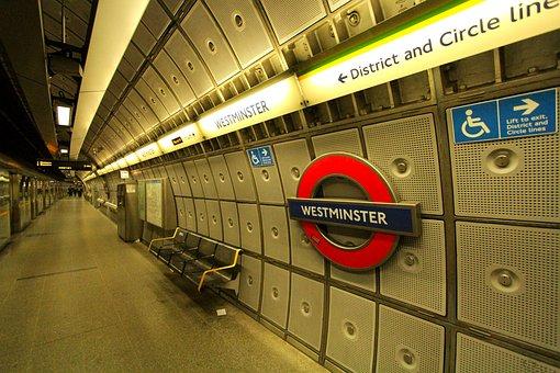 Metro, London, City, Station, Underground, Westminster