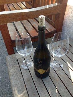 Wine, Wine Glasses, Wine Bottle, Winery, White