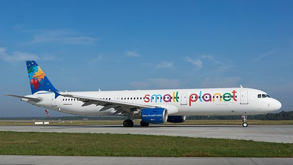 Airbus, A321, The Plane, Airport, Aviation, Tourism