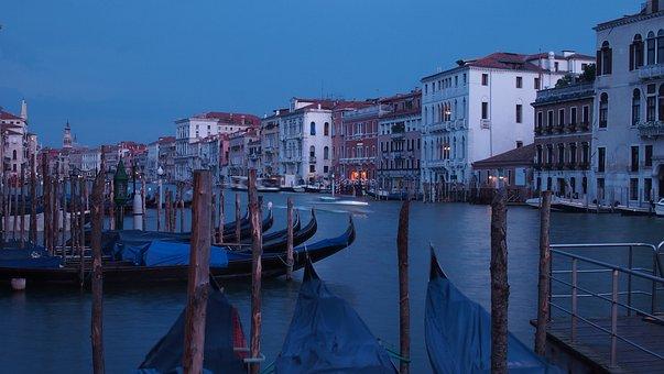 Venice, Facade, Sky, Colorful, Architecture, Italy