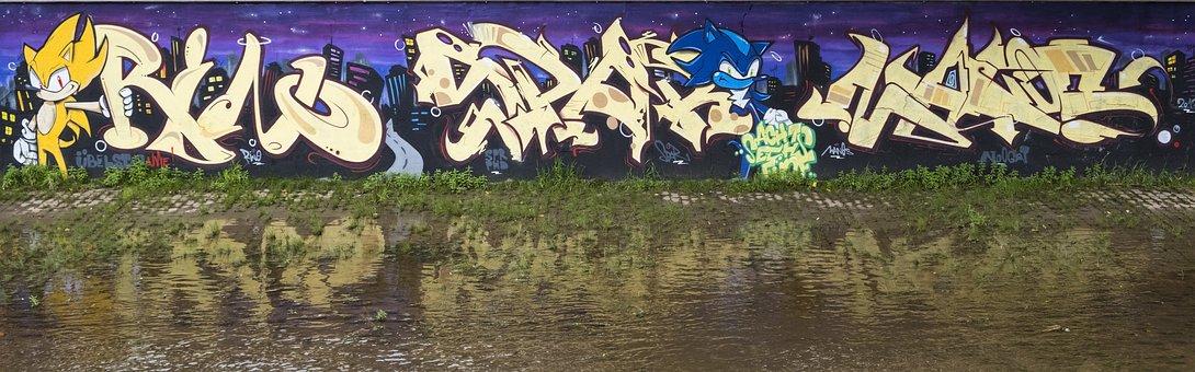 Art, Graffiti, Wall, Hauswand, Colorful, Street Art