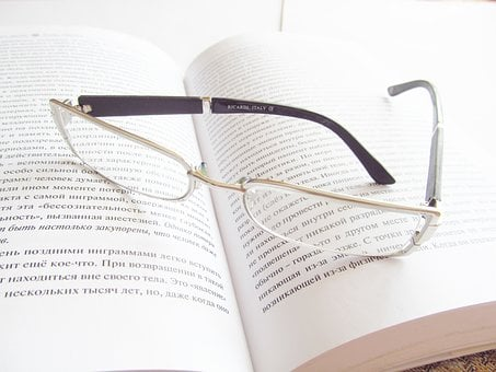 Glasses, Book, Reading, Development, Knowledge, Library