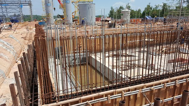 Foundation, Civil Engineering, Civil Works, Site Works