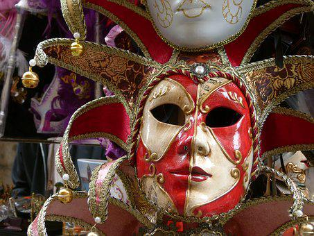 Venice, Mask, Carnival, Costumes
