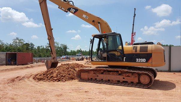 Heavy Equipment, Heavy Machinery, Excavator, Project