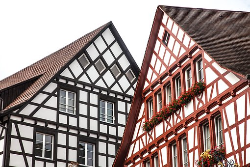 Gable, Truss, Germany, Fachwerkhaus, Old Town, Home
