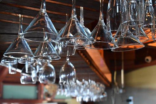 Cups, Bar, Drink, Cocktail, Restaurant, Mixology, Glass