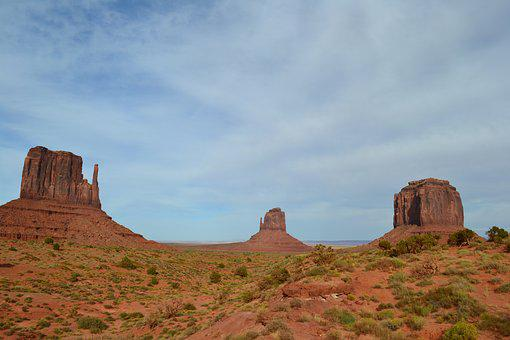 Monument Valley, Usa, Monument, Valley, West, Utah
