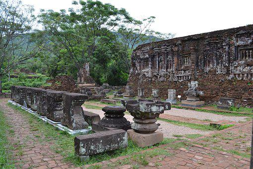 Vietnam, Hoi An, My Son, Sanctuary, Ruins