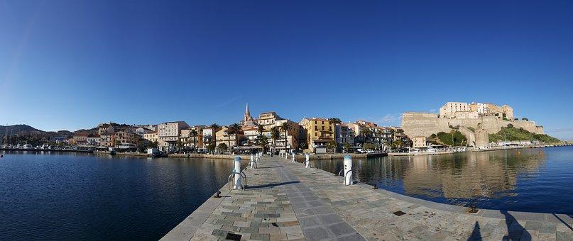 Corsican, Calvi, Port, Old Town