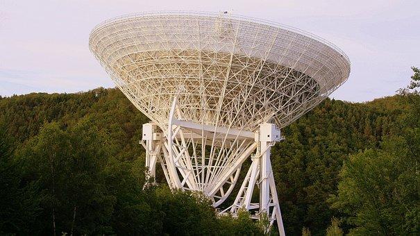 Radio Telescope, Effelsberg, Bad Münstereifel, Eifel