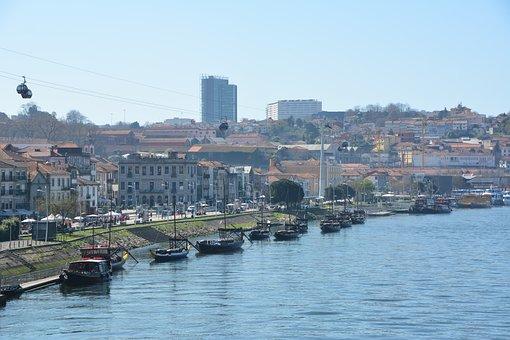 Riverfront, Porto, City