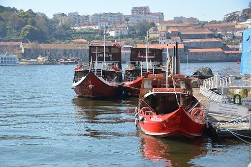 Boats, Porto, Tourism