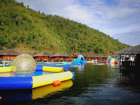 Water Park, Tour, Relax, Tourism, Mountains, Nature