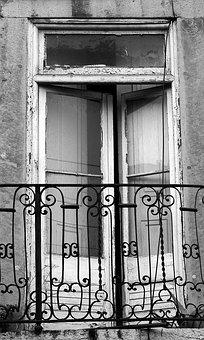 Urban, Window, Architecture, Portugal