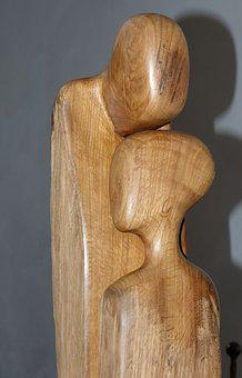 Figure, Sculpture, Statue, Art, Artwork, Wood, Man