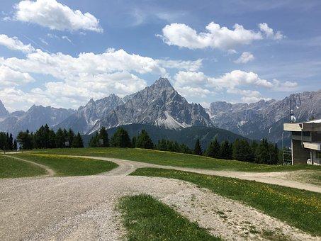 Alpine, Panorama, Mountain, Mountains, South Tyrol
