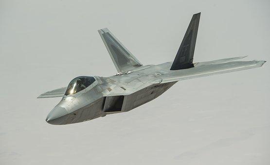 F-22 Raptor, Stealth, Aircraft, Jet, Aviation, Plane