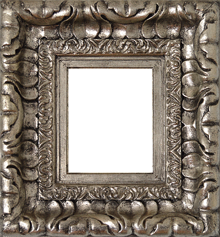 Png, Silver Frame, Silver, Box, Square Frame