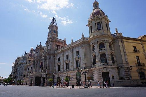 Valencia, Architecture, Spain, Travel, City, Building