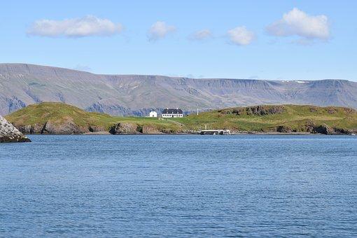 Videy, Island, Iceland, Reykjavik, Historical, House