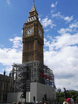 London, Big Ben, Work, United Kingdom, Tower, Clock