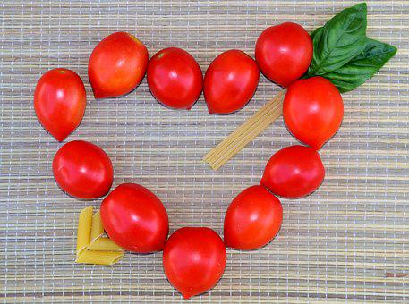 Heart, Tomatoes, Heart Of Tomatoes, Nutrition, Love