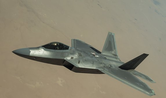 F-22 Raptor, Stealth, Aircraft, Jet, Aviation, Plane