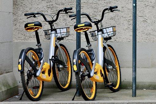 O-bike, Rental Bike, App-controlled, City Bike