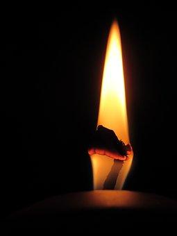 Candle, Light, Candlelight, Flame, Romance, Mood