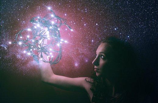 Stars, Space, Light, Shiny, Bright, Astronomy, Shining