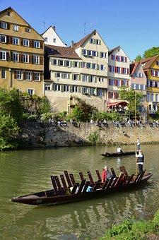 Tübingen, Facade, Truss, Southern Germany, Germany