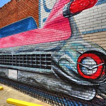 Mural, Painting, Wall, Drawing, Artistic, City, Urban