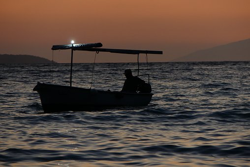 Boat, The Fisherman, Nature, Water, Sea, Holidays