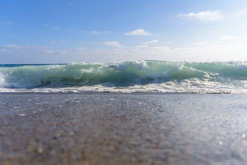 Wave, Water, Beach, Liquid, Wet, Ripple, Ocean