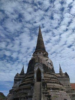 Temple, Bangkok, Thailand, Asia, Travel, Tourist