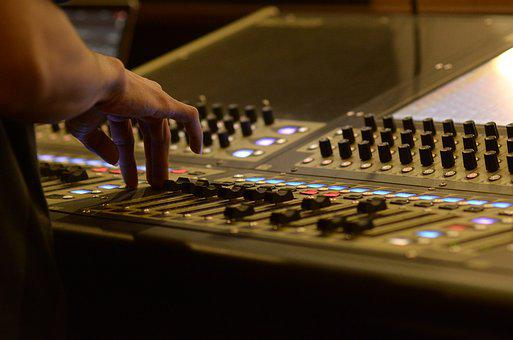 Mixer, Sound, System, Audio, Audio Mixer