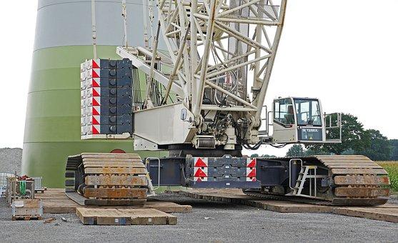 Pinwheel, Building, Crane, Heavy Appliance