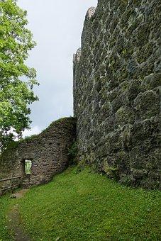 Alt-trauchburg, Castle, Ruin, Allgäu
