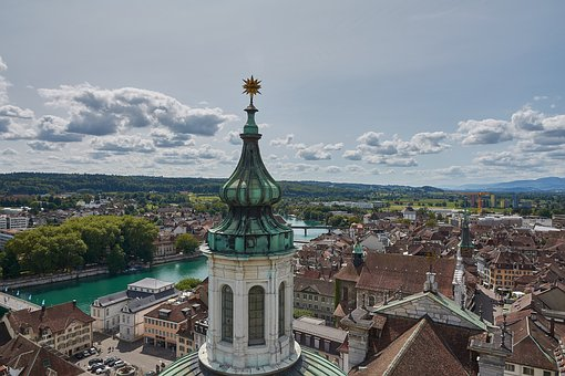 Steeple, View, Old Town, Church, Outlook, City