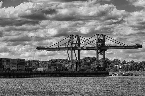 Port, Port Facility, Container, Marketing Hub, Crane