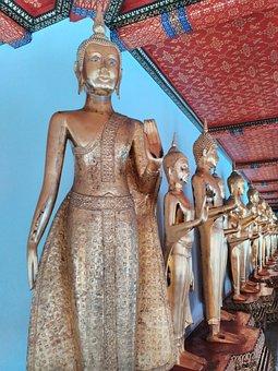 Buddha, Temple, Wat, Thai, Thailand, Culture, Statue