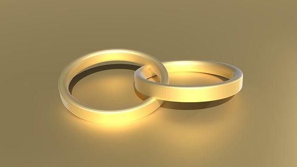 Wedding Ring, Ring, Before, Gold Ring, Gold, Symbol