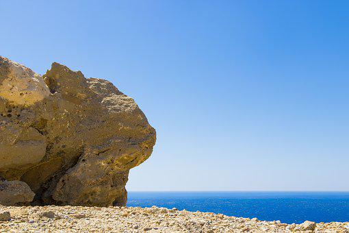 Crete, Greece, The Stones, Landscapes, Holidays, Blue