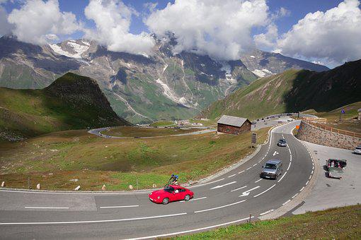 Pass, High Alpine Road, Grossglockner, Mountains