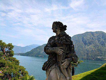Image, Garden, Villa Balbianello, Como, Lenno