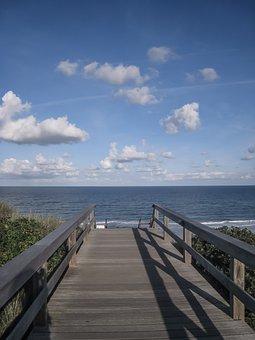 Sylt, Beach, North Sea, Summer, Sea, Holiday, Sunset