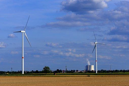 Pinwheel, Nuclear Power Plant, Pollution, Radiation